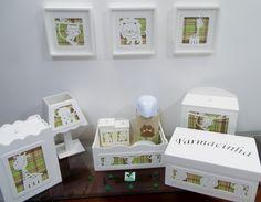 Coleção Safari - Kit Higiene 3D - 9pçs