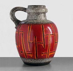 Scheurich 486-38 - Floor Vase (Fat Lava Wadersloh) Tags: westgermanpottery scheurich fatlava