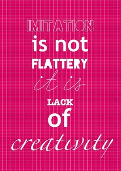 This post is brilliant. Little Bit Funky: imitation is as flattering as a moo-moo