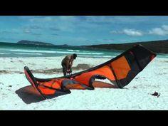 Switch Nitro 4 12m, setup of my new kite