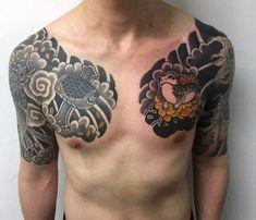 60 Phoenix Tattoo Designs For Men - A 1,400 Year Old Bird Anime Tattoos, New Tattoos, Tribal Tattoos, Tattoos For Guys, Cool Tattoos, Tatoos, Armor Tattoo, 1 Tattoo, Samurai Tattoo