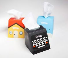 Packaging of the World: Creative Package Design Archive and Gallery: Kleenex Desktop Companion (Student Work)