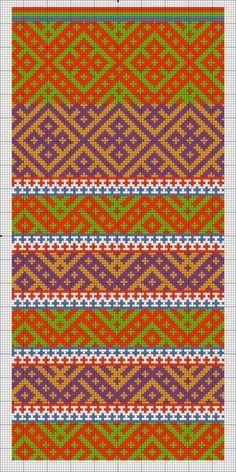 Традиционное узорное вязание   VK