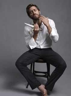 Jake Gyllenhaal in Long Sleeve. is listed (or ranked) 10 on the list Hot Jake Gyllenhaal Photos Gq, Esquire Uk, Handsome Men Quotes, Handsome Arab Men, Handsome Celebrities, Photographie Portrait Inspiration, James Mcavoy, Poses For Men, Mode Masculine