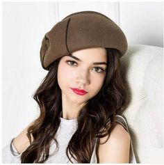 56941f6a 24 Best Womens wool beret hat with bow images | Wool berets, Fashion ...