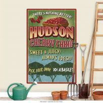 Hudson Cherry Farm Fruit Stand Wall Decal