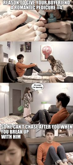Wild Romance Kdrama. Hahaha! http://en.korea.com/snsd/board/jessica-thanks-lee-dong-wook-for-helping-her-with-acting/