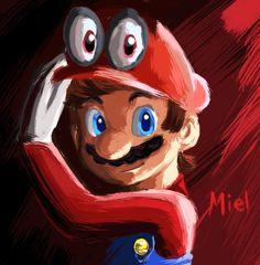 Mario from Super Mario Odyssey by IkaFR.deviantart.com on @DeviantArt