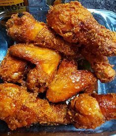 Honey Fried Chicken, Perfect Fried Chicken, Honey Lemon Chicken, Fried Chicken Wings, Lemon Pepper Chicken, Fried Chicken Recipes, Chicken Saute, Chicke Recipes, Chicken Wraps