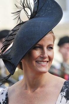 10/20/2012: Sophie, Countess of Wessex attends the wedding of Prince Guillaume of Luxembourg & Countess Stéphanie de Lannoy (Luxembourg City, Luxembourg)