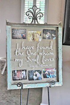 vintage rustic old window wedding decor / http://www.deerpearlflowers.com/diy-window-wedding-ideas/2/