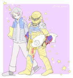 Original Power Rangers, Kamen Rider, Art Pictures, A Team, Chibi, Japanese, Superhero, Artist, Cute