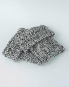 Ravelry: Hero Boot Cuffs pattern by Kari-Helene Rane