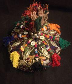 ethnic-hat-tribal-hat-uzbek-hat-asian-hat-vintage-hat-decorative-hat