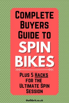 Complete guide to buying your first spin bike for your home gym. If you love indoor cycling, get your workout done at home. These are all available on Amazon rght now so don't wait. #indoorcycling #spinbikes #homegym Best Home Gym Equipment, No Equipment Workout, Motivation Goals, Fitness Motivation, Easy Workouts, At Home Workouts, Spinning Workout, Spin Bikes, Womens Wellness
