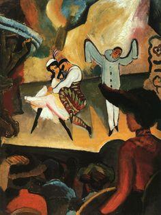 Russisches Ballett - August Mackel