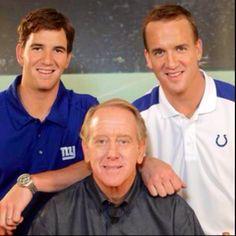 Eli, Archie & Peyton Manning!:)