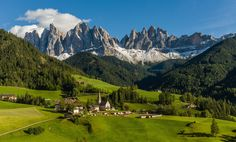 Santa Maddalena in Val di Funes - This photo was shot during the PODAS September 2013 photo workshop in the Dolomites.