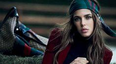 Charlotte Casiraghi, testimonial di Gucci