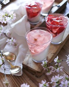 Easter Recipes, Easter Food, Food Diary, No Cook Meals, Soul Food, Panna Cotta, Strawberry, Restaurant, Cooking