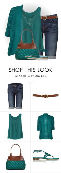 """""""Untitled #2665"""" by mrsdarlene ❤ liked on Polyvore featuring J Brand, Ollie & Nic, Uniqlo, WearAll, Andrea Valentini and Sergio Rossi"""
