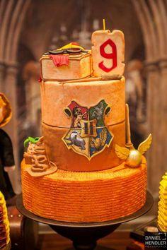 Bolo para festa Harry Potter