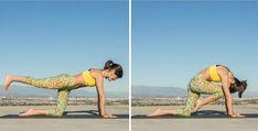 Best yoga move to strengthen abs and back muscles - beginner intermediate and advanced versions Hormon Yoga, Sup Yoga, Yoga Moves, Jiu Jitsu, Pilates, Yoga Fitness, Health Fitness, Learn Yoga, Yoga For Flexibility