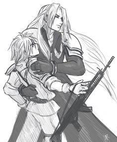 Final Fantasy Cloud, Fantasy Series, Love Doodles, Cloud Strife, Kingdom Hearts, Anime Love, Worship, Naruto, Fanart