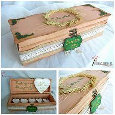 Cutia cu amintiri handmade with love by Fuioru Fermecat Decorative Boxes, Gift Wrapping, Love, Gifts, Handmade, Home Decor, Paper Wrapping, Amor, Homemade Home Decor