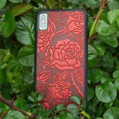 Ginkgo Leave Oberon Design Custom Made Marigold Leather Checkbook Cover//Holder