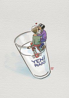 let's drink raki by ahmetcoka, via Flickr