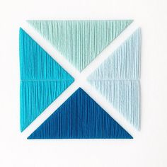 Back to blues ! - Jane Denton - Textile Artist based in Wellington, New Zealand. Media Unit, Blue Square, Textile Artists, Window Coverings, Hand Stitching, Fiber Art, Modern Contemporary, Weaving, Room Decor