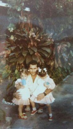 Eu e minhas filhas  (Ísis e Íris )