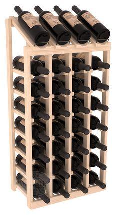 Handmade Wooden 16 Bottle Display View Wine Rack Kit in Ponderosa Pine. 13 Stain Combinations to Cho Handmade Wooden 16 Bottle Display View Wine Rack Kit in Ponderosa Pine. 13 Stain Combinations to Cho Cheap Wine Racks, Wood Wine Racks, Wine Racks America, Bottle Display, Vintage Wine, Wine Cabinets, Italian Wine, Wine Storage, Storage Rack