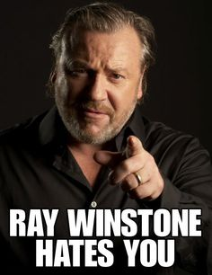Ray Winstone - Created with BeFunky Photo Editor Hot Actors, Actors & Actresses, Ray Winstone, The Sweeney, Aquarius Men, British Actors, Interesting Faces, Male Face, Comedians