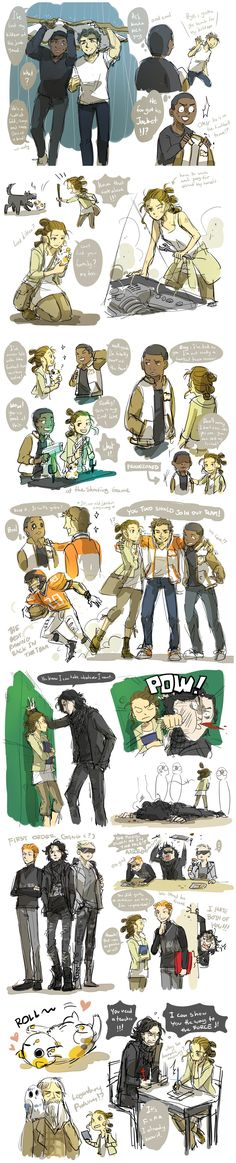 Star wars high school AU.