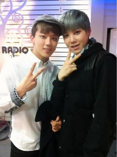 B.A.P Youngjae & Zelo Live on air