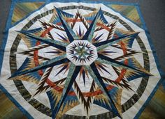 mariner compass quilt Judy Neimeyer | Mariners Compass | Judy Niemeyer Mariner's Compass