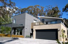 Located in the southern highlands town of Mittagong, this home was designed for a couple approaching retirement and needed to meet a very strict budget. Thermal Mass, Modern Architecture, Brick, Building Designs, Facades, Natural, Places, Architects, Outdoor Decor