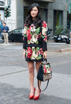Milan Street Style - Spring Summer Fashion 2013