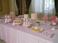 Communion Dessert Table.