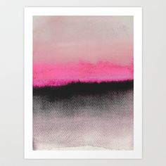Double Horizon Art Print by Georgiana Paraschiv - $19.00
