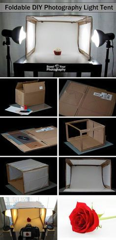 Boost Your Photography: Foldable DIY Photography Light Tent (Diy Photo Lighting) Photography Lessons, Light Photography, Photography Tutorials, Digital Photography, Product Photography Lighting, Food Photography, Landscape Photography, Portrait Photography, Wedding Photography