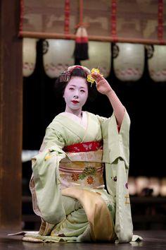 Ryouka during Higashiyama Hanatouro