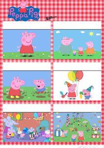 Convite gibi Peppa Pig Grátis! Prontos para editar e imprimir no www.fazendo-festa.net