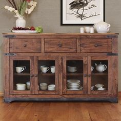 International Furniture Direct Consoles Multi Drawer Console with 12