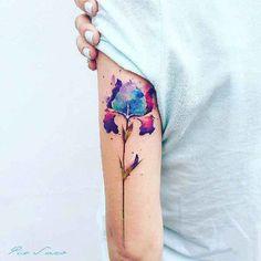Tattoo, Blume, Fantasy