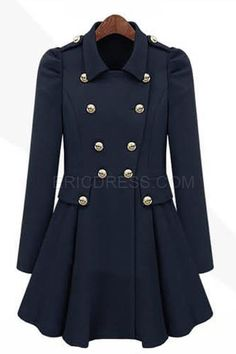 Puff Fold Double-breasted Trench Coat 3