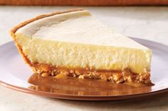 This dessert is sure to be a favourite of the cheesecake lovers in your house. And the caramel lovers. And the pecan lovers….