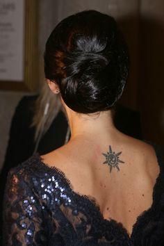 The royal placing of tattoo - Sofia Hellqvist -